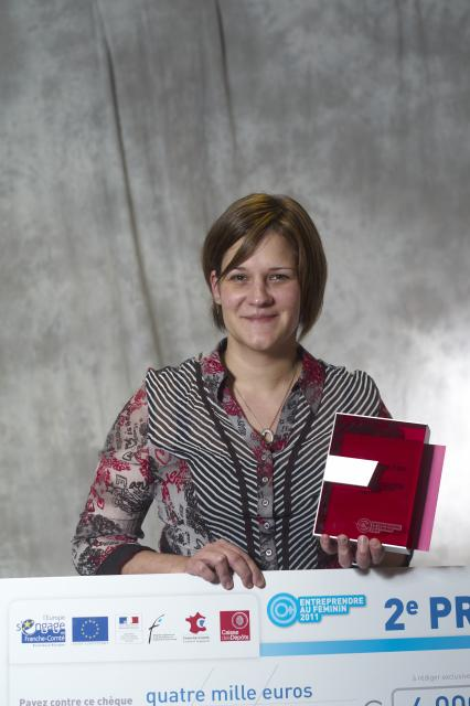 Deuxième Prix : Isabelle ARIZTEGUI