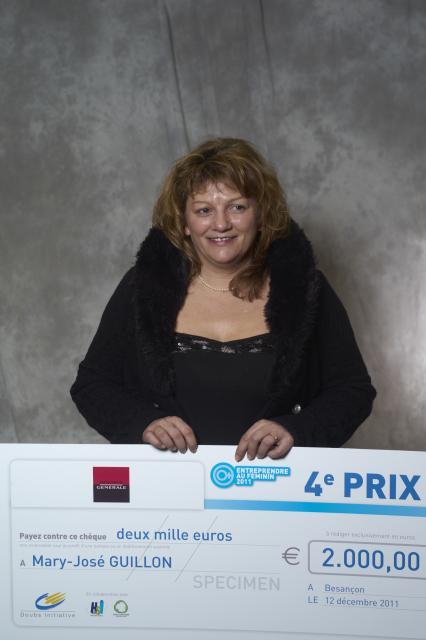 Quatrième Prix : Mary-José GUILLON