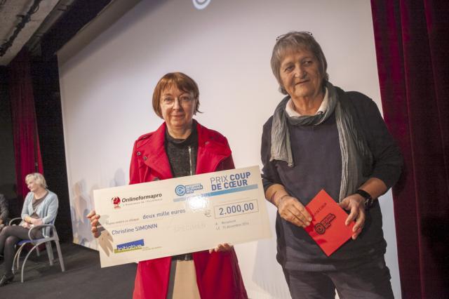 Christine SIMONIN et Michèle GUERRIN, PDG d'Onlineformapro