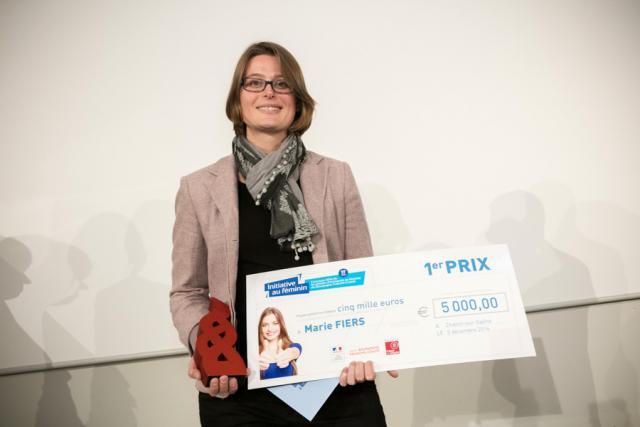 Marie FIERS - 1er Prix Initiative au féminin 2016
