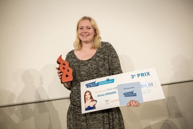 Anna GIRARD - 3ème Prix Initiative au féminin 2016