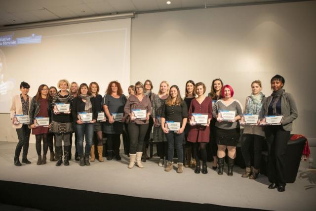 Nominées Initiative au féminin 2016