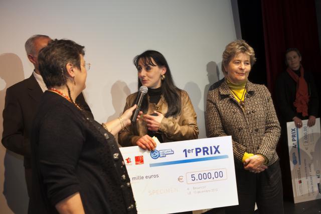 Premier prix : Aine GRESET