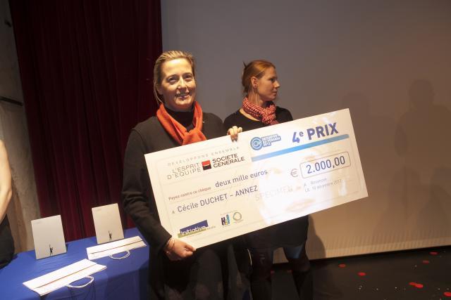 Quatrième prix : Cécile DUCHEZ-ANNEZ