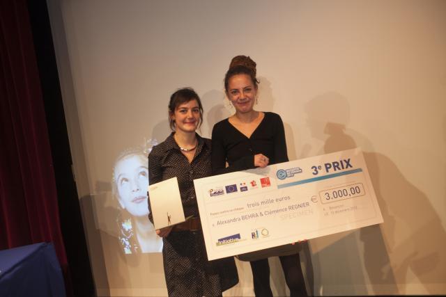 Troisième prix : Florence REGNIER - Alexandra BEHRA