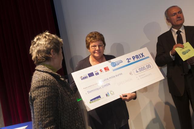 Deuxième prix : Dominique SIMON