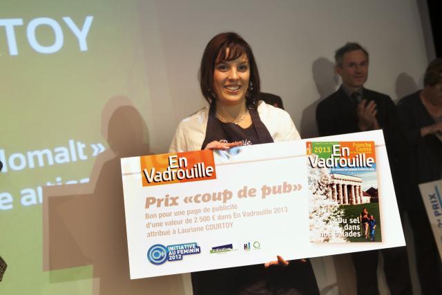 Prix Coup de Pub : Laurianne COURTOY