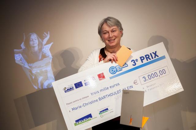 Troisième prix : Marie-Christine BARTHOULOT