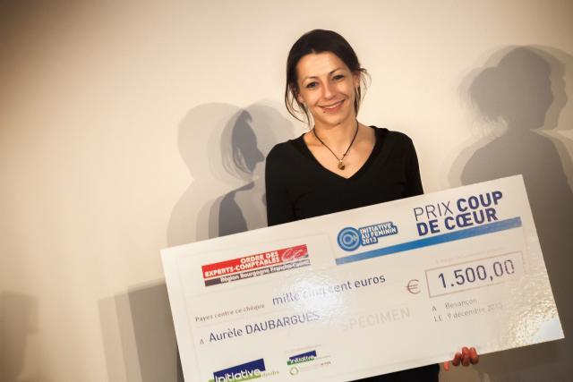 Prix coup de coeur : Aurèle DAUBARGUES